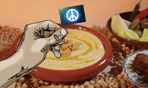 From Make Hummus Not War