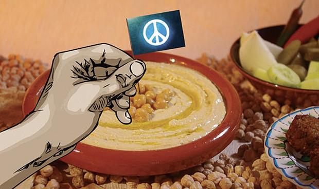 From Make Hummus Not War