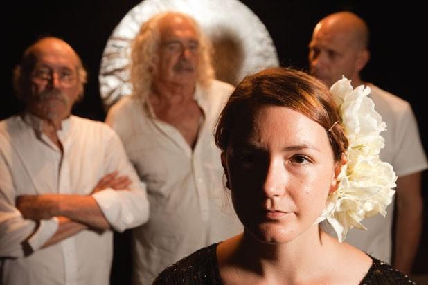 Front: Genevra MacPhail; back: Bill Gagnon, Steve Goldberg, Charles Papasoff - MATTHEW THORSEN