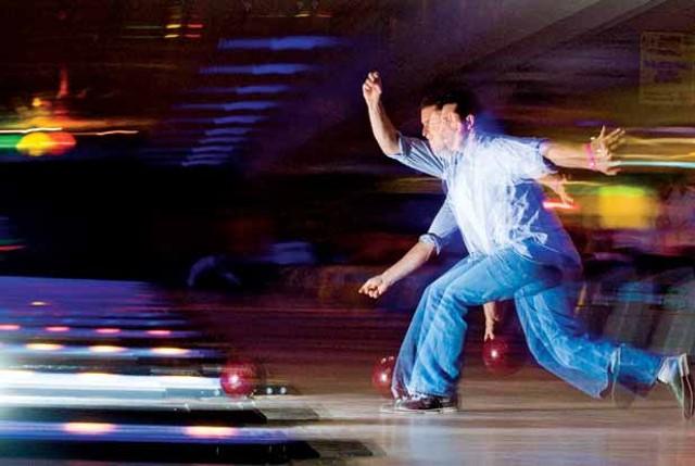 Galactic Bowling at Yankee Lanes - ANDY DUBACK