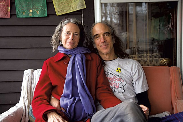 Gary and Leslie Sullivan Sachs - DAVID SHAW