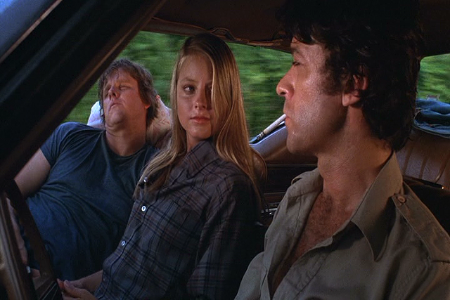 Gary Busey, Jodie Foster and Robbie Robertson in Carny - WARNER BROS. PICTURES