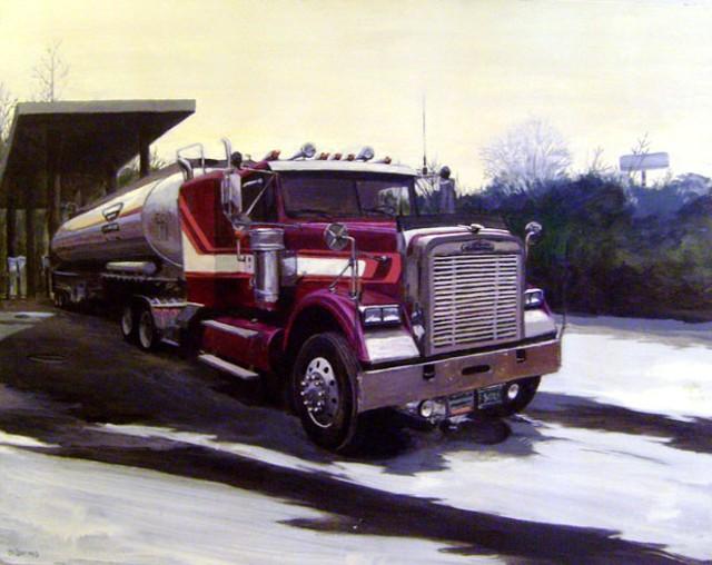 """""""Gasoline"""" by Benjamin Barnes"""