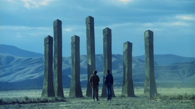 Giant, ant-built columns in Phase IV - PARAMOUNT PICTURES