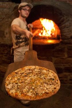 gluten-free pizza at American Flatbread