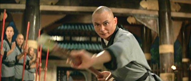 Gordon Liu in Eight Diagram Pole Fighter - SHAW BROTHERS