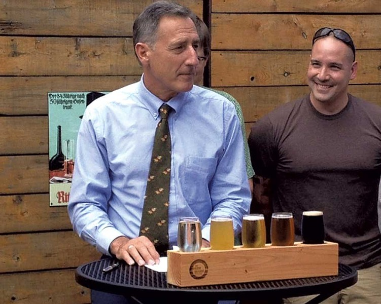 Gov. Peter Shumlin - COURTESY OF FARMHOUSE TAP & GRILL
