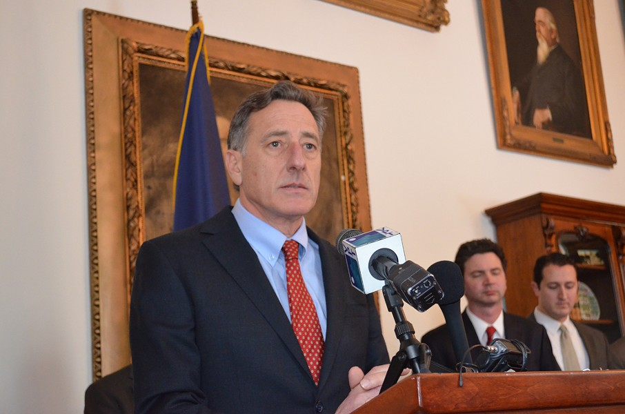 Governor Peter Shumlin