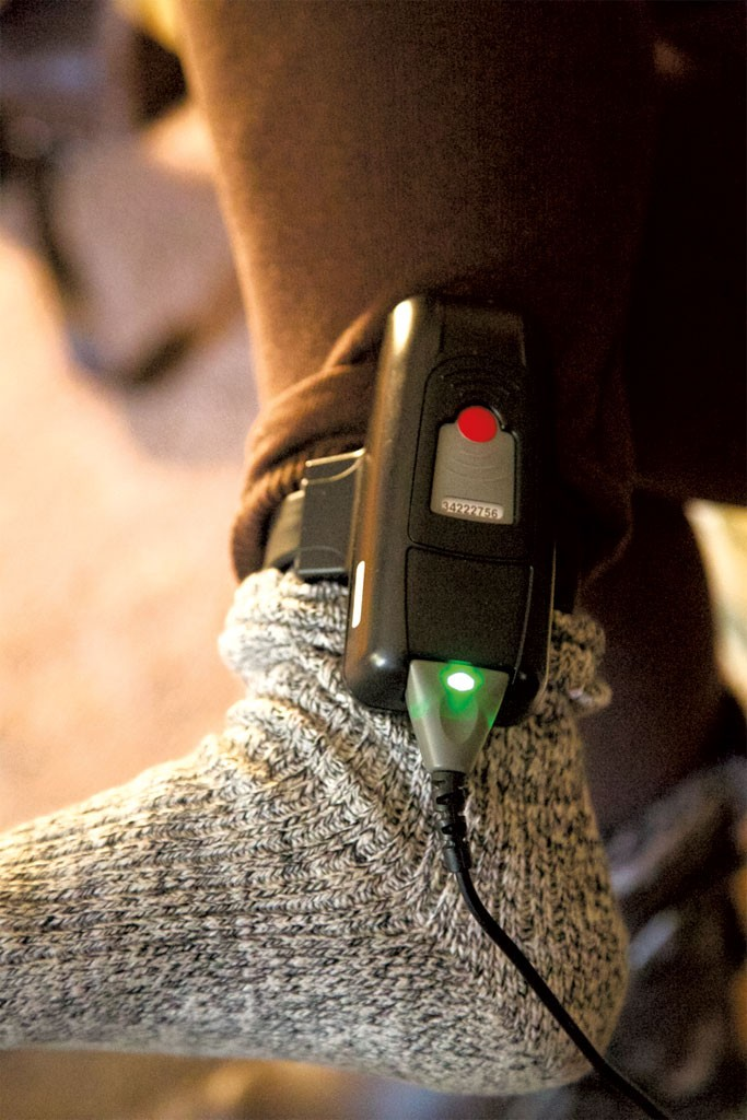 GPS monitor - DAVID SHAW