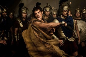 GREEK CHIC Cavill makes a great centerpiece for action tableaux but not much  of a character in Singh's swords-and-sandals epic.