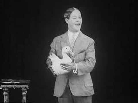 Gus Visser and his singing duck - LIBRARY OF CONGRESS