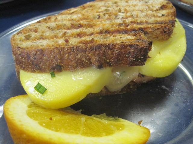 Ham It Up grilled sandwich