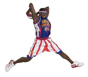 COURTESY OF HARLEM GLOBETROTTERS