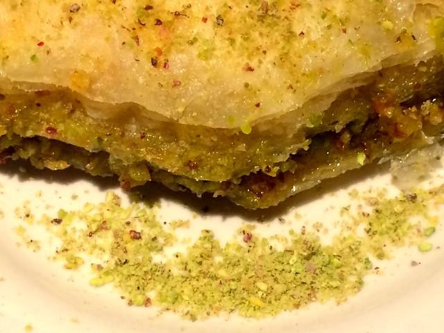 Homemade baklava - ALICE LEVITT