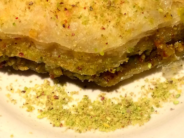 Homemade baklava - ALICE LEVITT