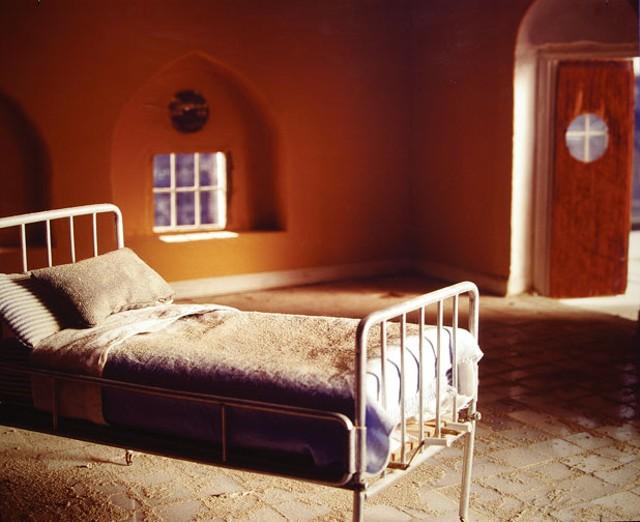 """""""Hospital Bed,"""" Wafaa Bilal"""