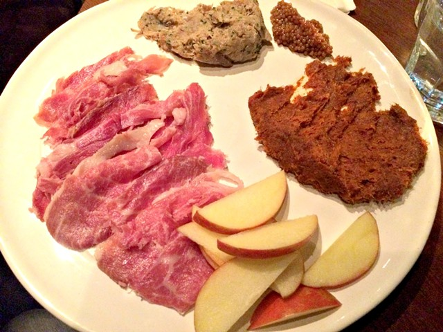 How to choose charcuterie? Order one of everything. - ALICE LEVITT