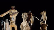 In a Shared Exhibit, a 'Parade' of Handmade Figures Addresses Sharing the Earth
