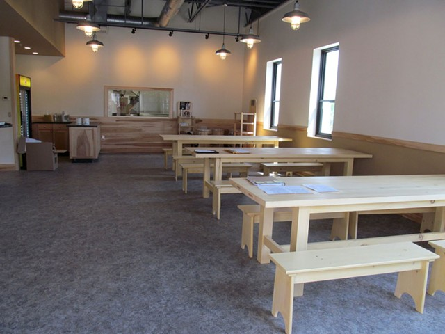 Inside the new Exchange Street Café - COURTESY OF VERMONT COFFEE COMPANY