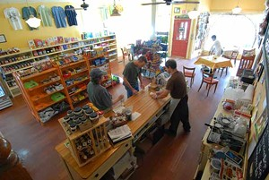 Inside the Tunbridge Village Store