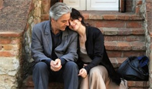 INTIMATE STRANGERS Binoche and Shimell get awfully close for recent acquaintances in Kiarostami's unclassifiable film.