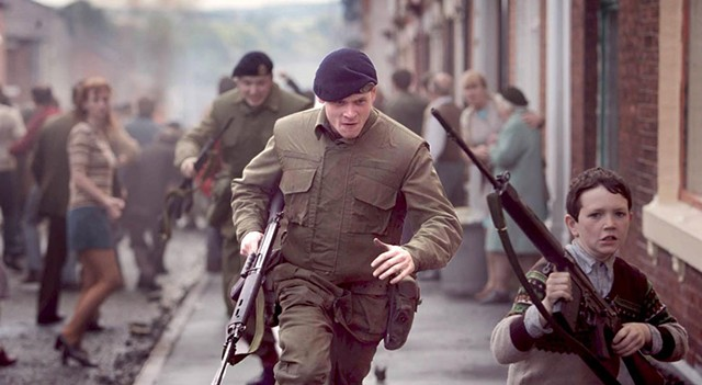 IT'S NOT EASY BEING GREEN: Demange's harrowing debut is set against the backdrop of the Troubles and tells the story of a Brit soldier left behind enemy lines.