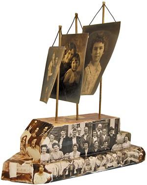 Janet Van Fleet's untitled sculpture