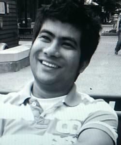 Jeetan Khadka, 24, got his stolen wallet back Monday. - COURTESY PHOTO