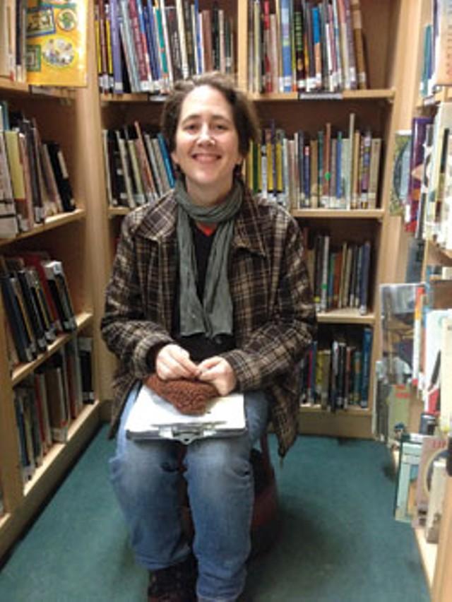 Jessamyn West in the Northfield Library