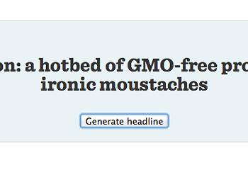 Jewelry and Pizza: the Headline Generator
