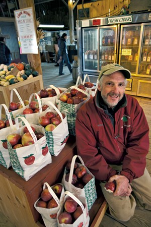 Jim Bove of Chapin Orchard - MATTHEW THORSEN