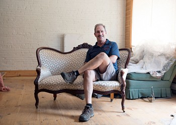 A Shoreham Upholsterer Puts the Bounce in the Seat