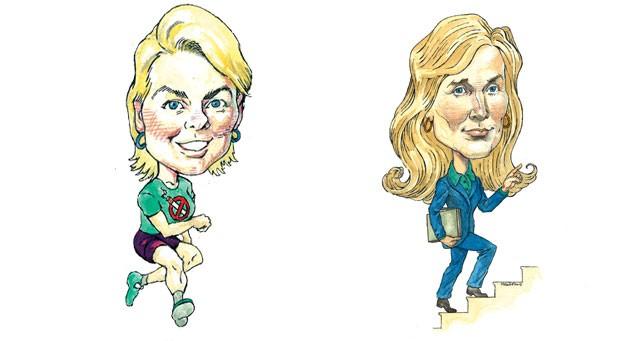 Joan Shannon, Karen Paul