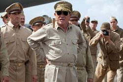 JONESING FOR MORE Those who come to Webber's period piece for Jones' turn as Gen. Douglas MacArthur may leave disappointed.