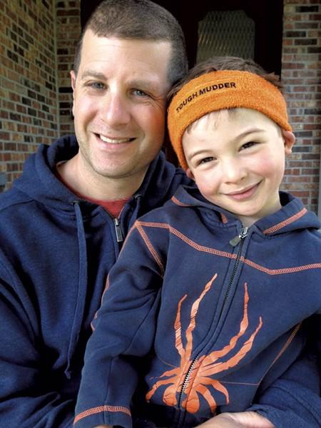 Josh Edelbaum with son Grayson - FILE: MATTHEW THORSEN