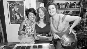Josie Green, Cecilia Leibovitz and Jaquelyn Rieke
