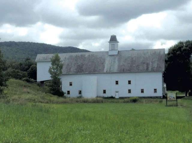 Jubilee Barn in Huntington - COURTESY OF SARAH JANE WILLIAMSON