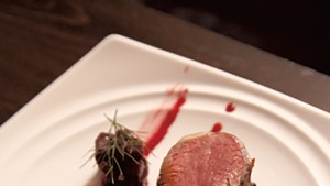 Junction's lamb chop with beets