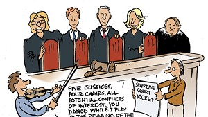 Justices for All? Why Vermont Supremes Sit Out So Much