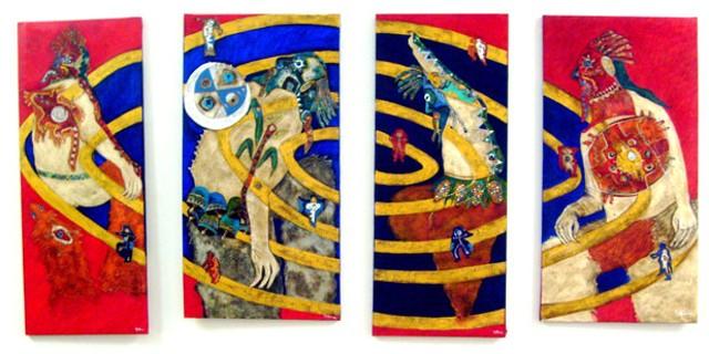 """Kapak Nan (Camino de la Justicia)"" by Yauri Meunala Vega"