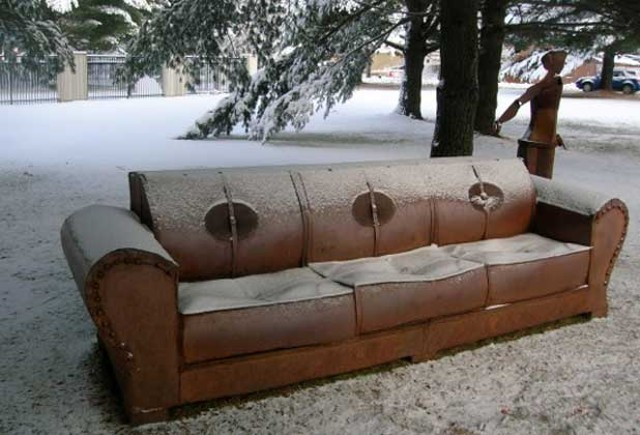 Kat Clear's couch