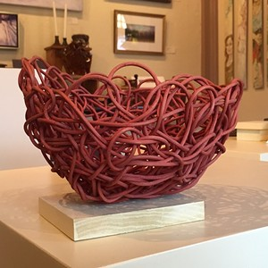 "COURTESY OF CREATIVE SPACE GALLERY - ""Knot a Basket"" by Tamara Wight"