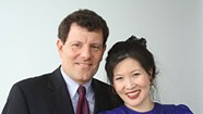 Kristof and WuDunn Advise Midd Kids: Get Outside Your Comfort Zone