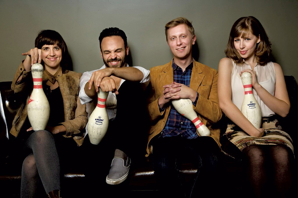 Lake Street Dive, who will perform at Grand Point North
