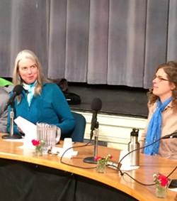Left, Joan Shannon; right, Rachel Siegel - ALICIA FREESE