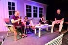 Left to right: Chris Pratt, Christina Ducharme, Susannah Blachly and Vince Rossano