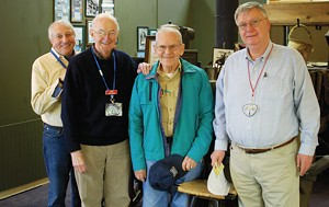Left to right: John Schneck, Bob Picher, Ozzie La Mothe and John Danley