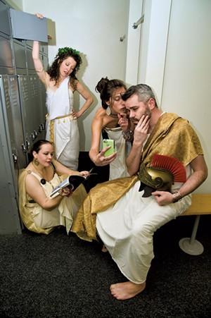 Left to right: Sarah Venooker, Marianne DiMascio, Cael Barkman and Jory Raphael - COURTESY OF CHRISTOPHER RYAN
