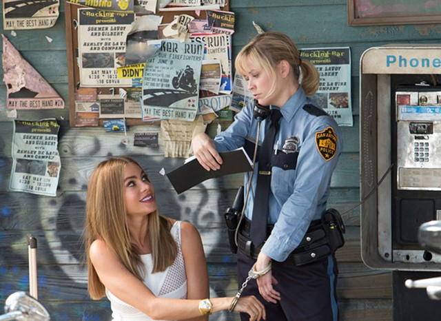 LEGALLY BLAND: Vergara and Witherspoon are paired in a comedy that has all the key elements of The Heat except for, you know, the comedy.