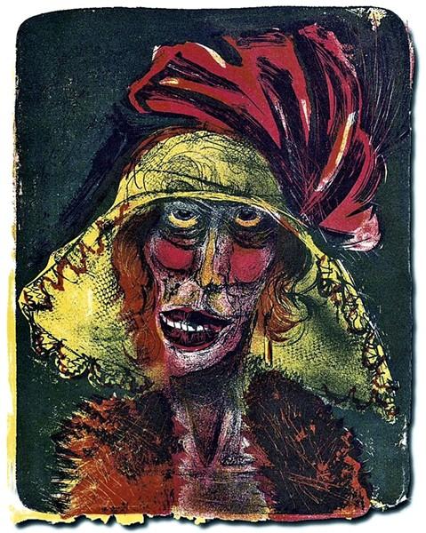 """""""Leonie"""" by Otto Dix"""